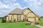 New Homes in Houston, TX - Plan 3005 Modeled