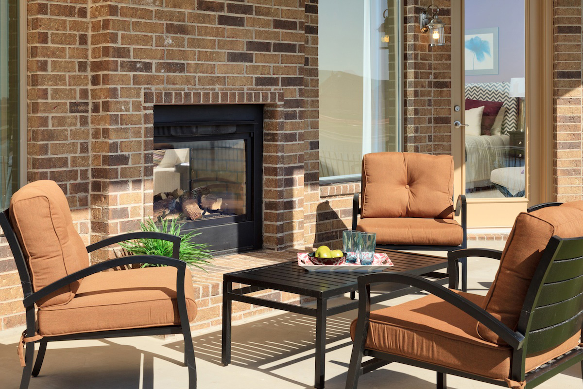 New Homes in Katy, TX - Katy Oaks Estates 3005 Outdoor Living