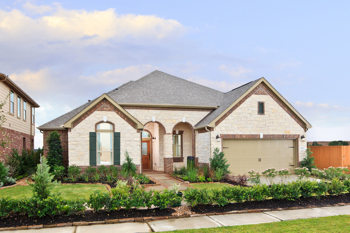 New Homes in Katy, TX - Katy Oaks Estates The 2625