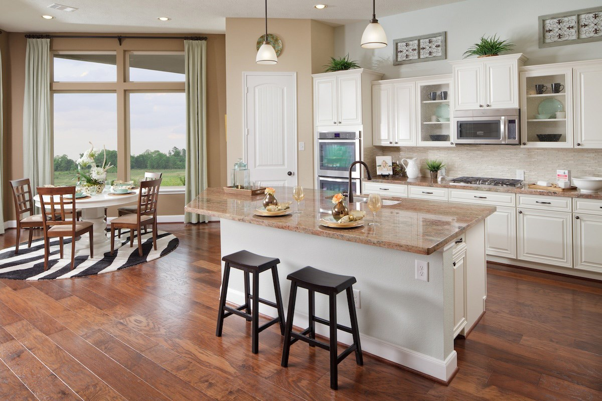 New Homes in Katy, TX - Anserra Estates Plan 2625 Kitchen