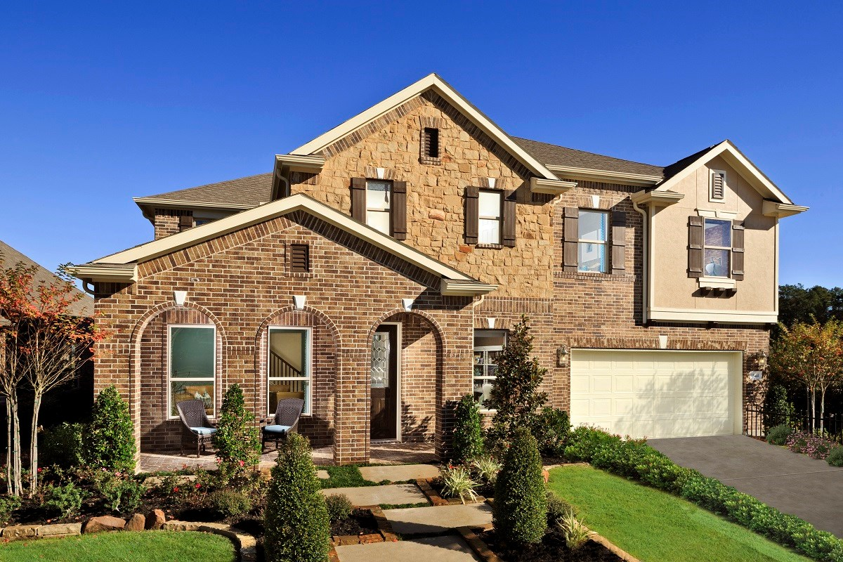 New Homes in Houston, TX - Lakewood Pines Estates Plan 4811