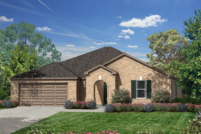 New Homes in Pearland, TX - Elevation B
