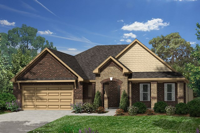 New Homes in Porter, TX - Elevation E