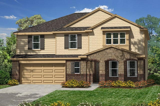 New Homes in Pearland, TX - Elevation C