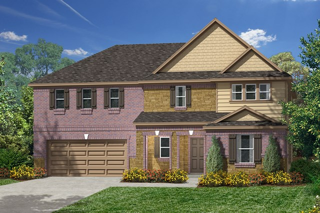 New Homes in Pearland, TX - Elevation D