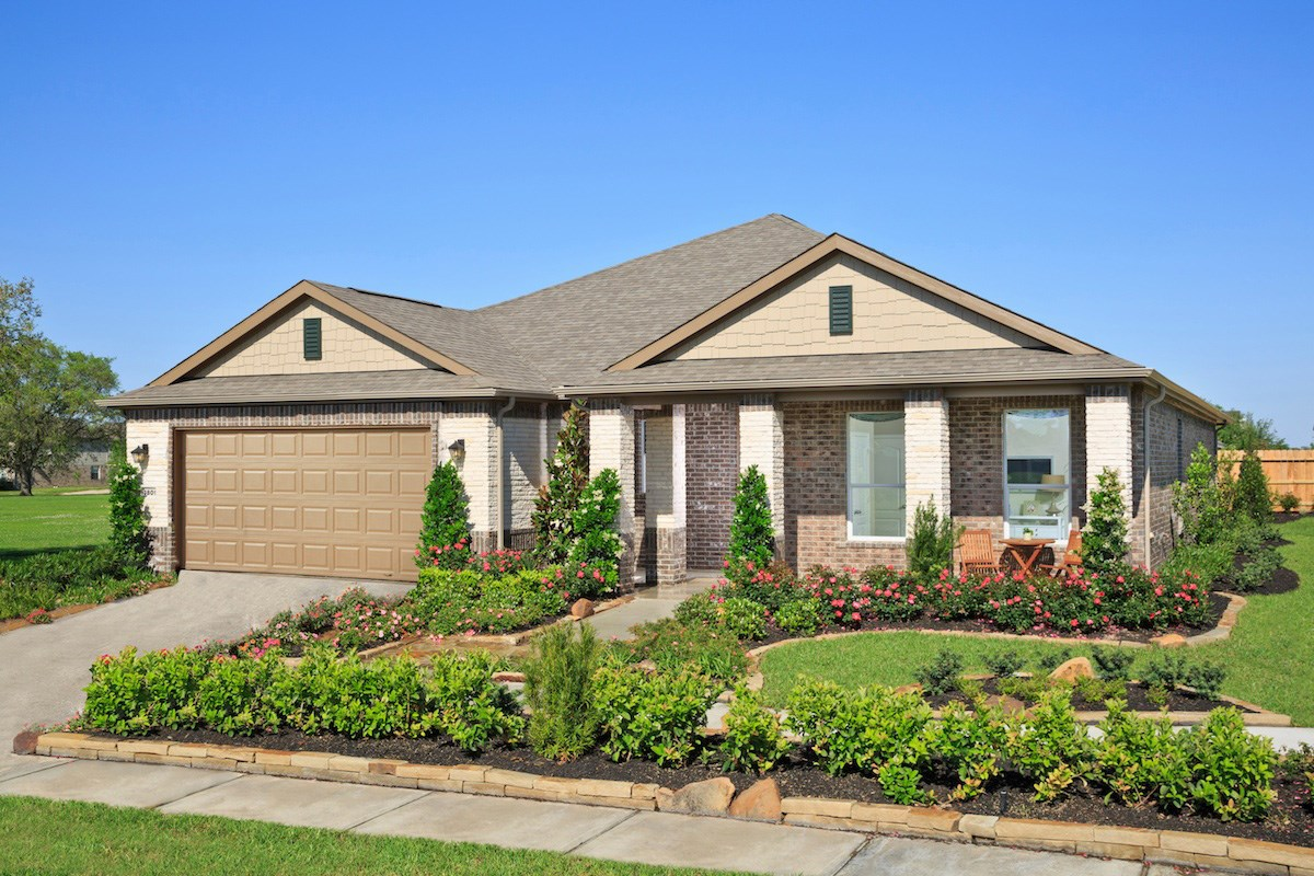 New Homes in Pearland, TX - Canterbury Park Plan 2321