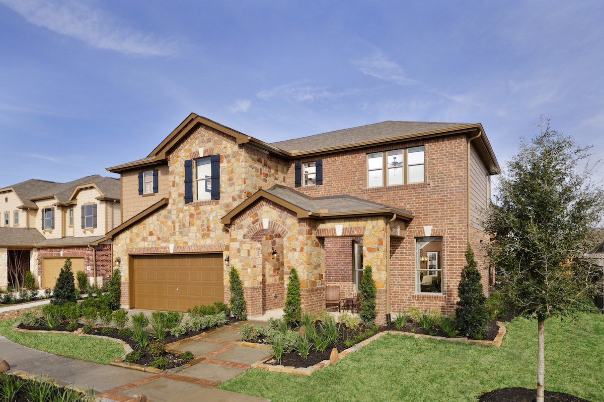 New Homes in Pearland, TX - Canterbury Park Plan 2932