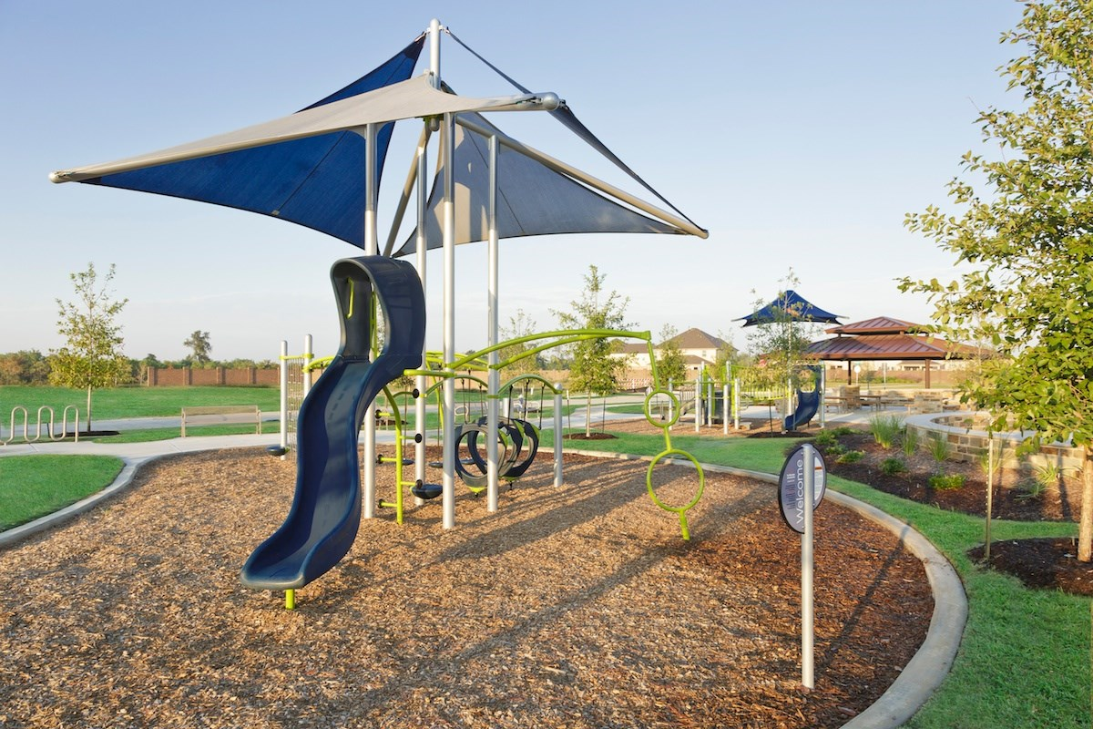 New Homes in Katy, TX - Anserra Estates Playground and Pavilion