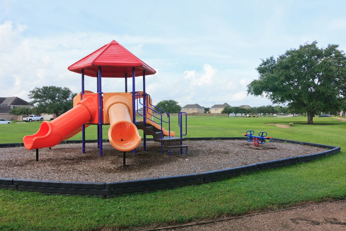 New Homes in Pearland, TX - Canterbury Park Community Playground