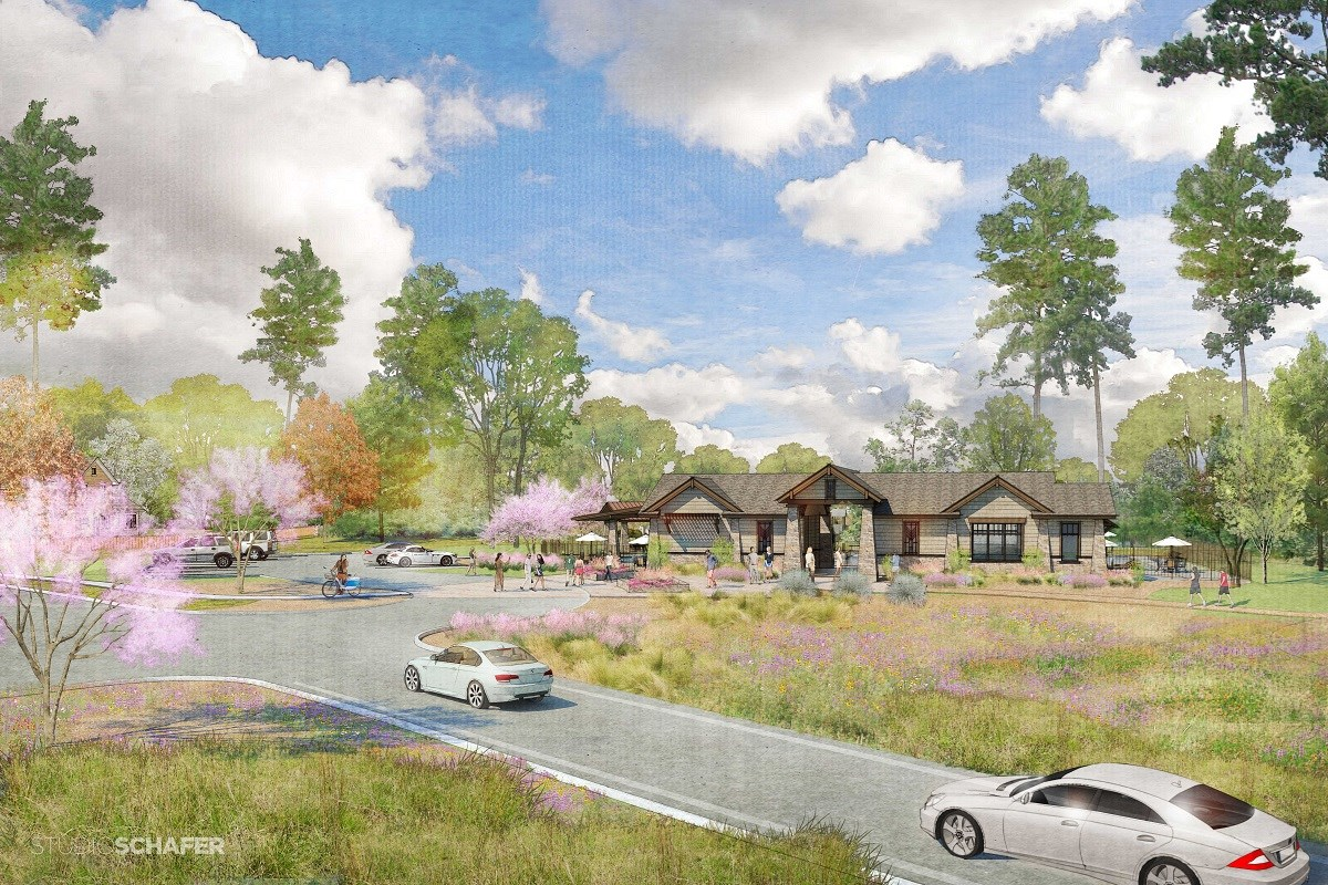 New Homes in Magnolia, TX - Cimarron Creek Estates Proposed Recreation Center
