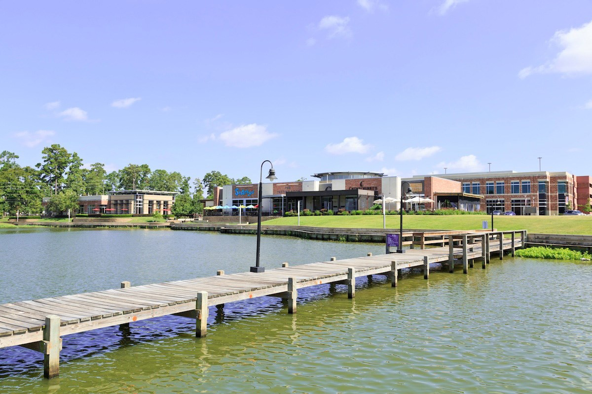 New Homes in Houston, TX - Lakewood Pines Preserve Kings Harbor Waterfront Village