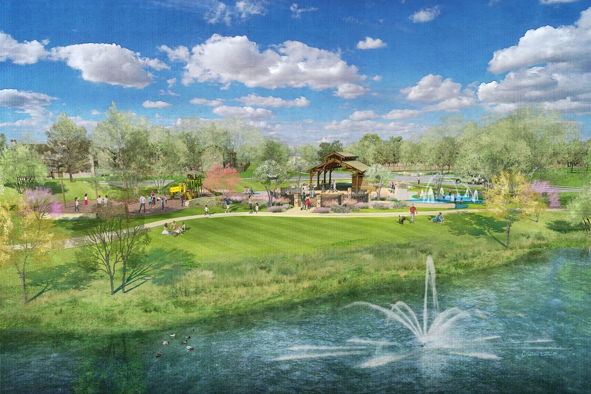 New Homes in Porter, TX - Brookwood Forest Landing Proposed Amenities