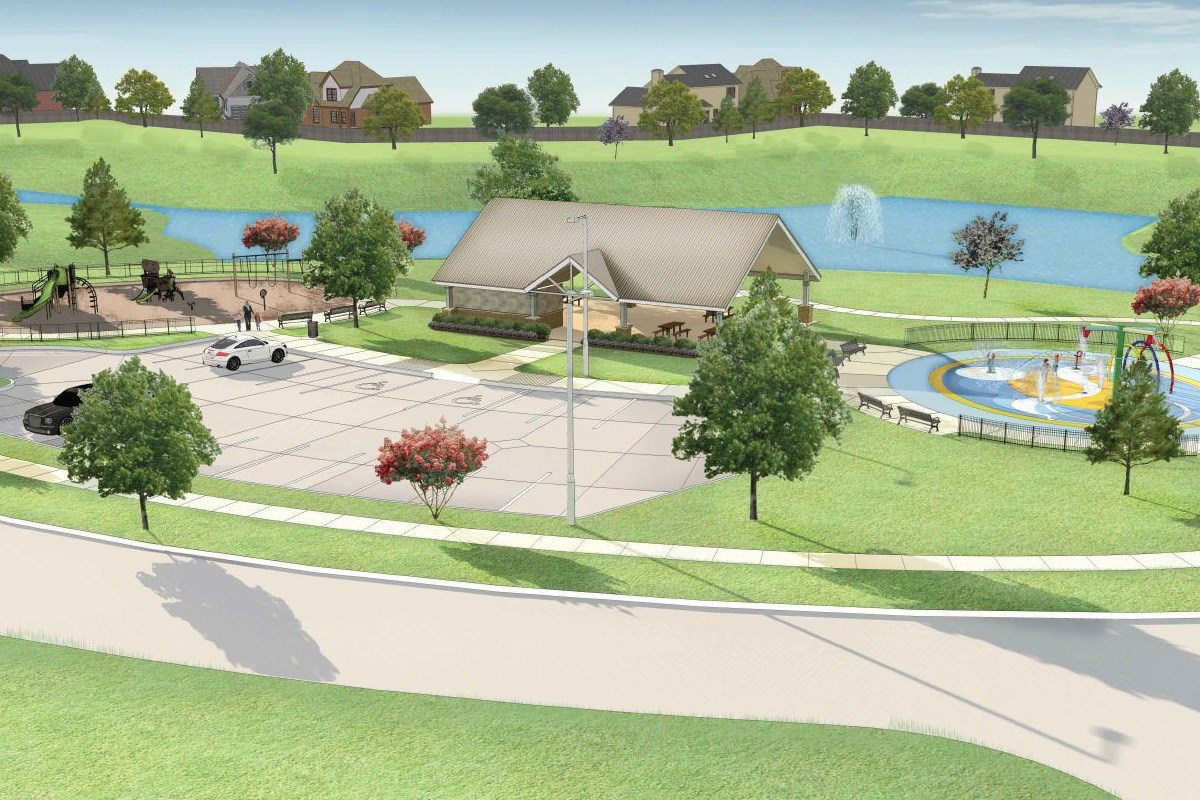 New Homes in Richmond, TX - Briscoe Falls Preserve Amenity Center