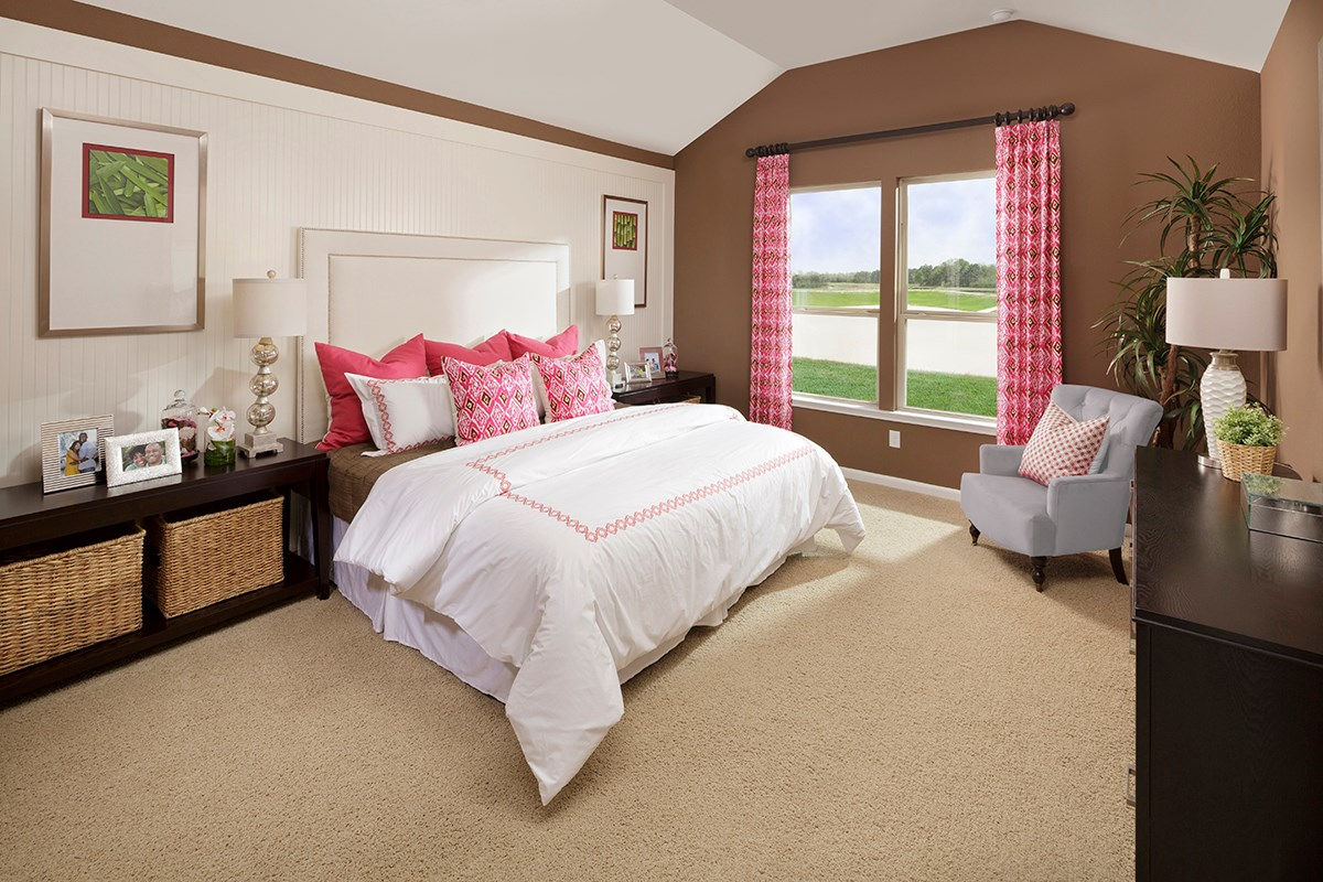 New Homes in Katy, TX - Anserra Preserve Plan 2398 Mater Bedroom