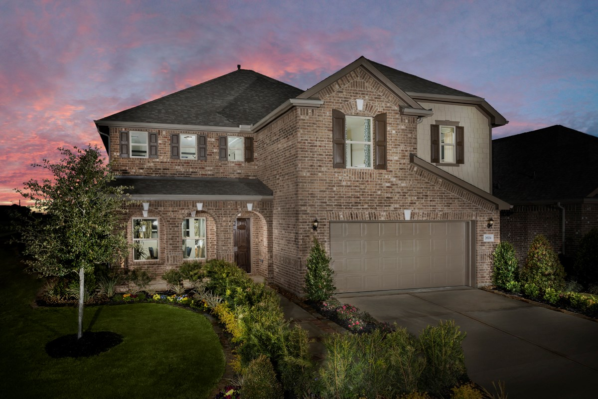 New Homes in Katy, TX - Anserra Preserve Plan 2936
