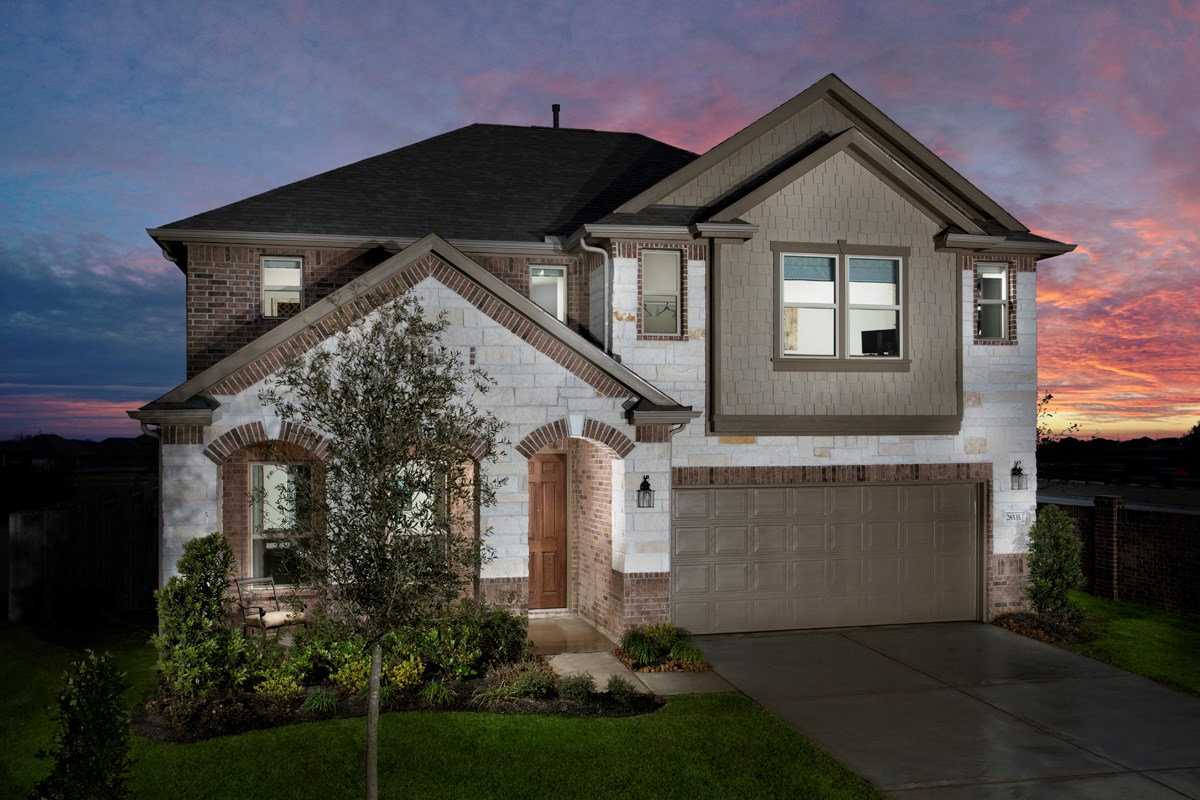 New Homes in Katy, TX - Anserra Preserve Plan 3028