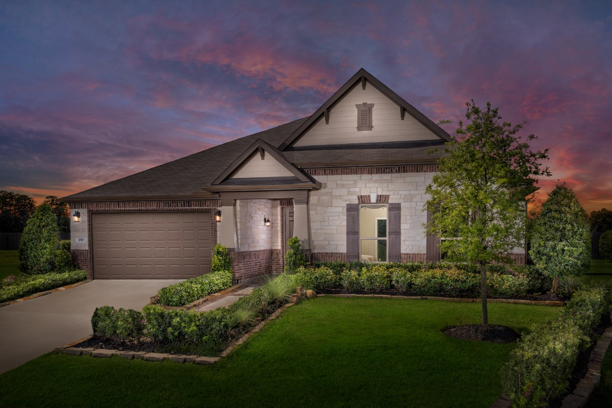 New Homes in Porter, TX - Brookwood Forest Landing Plan 2586