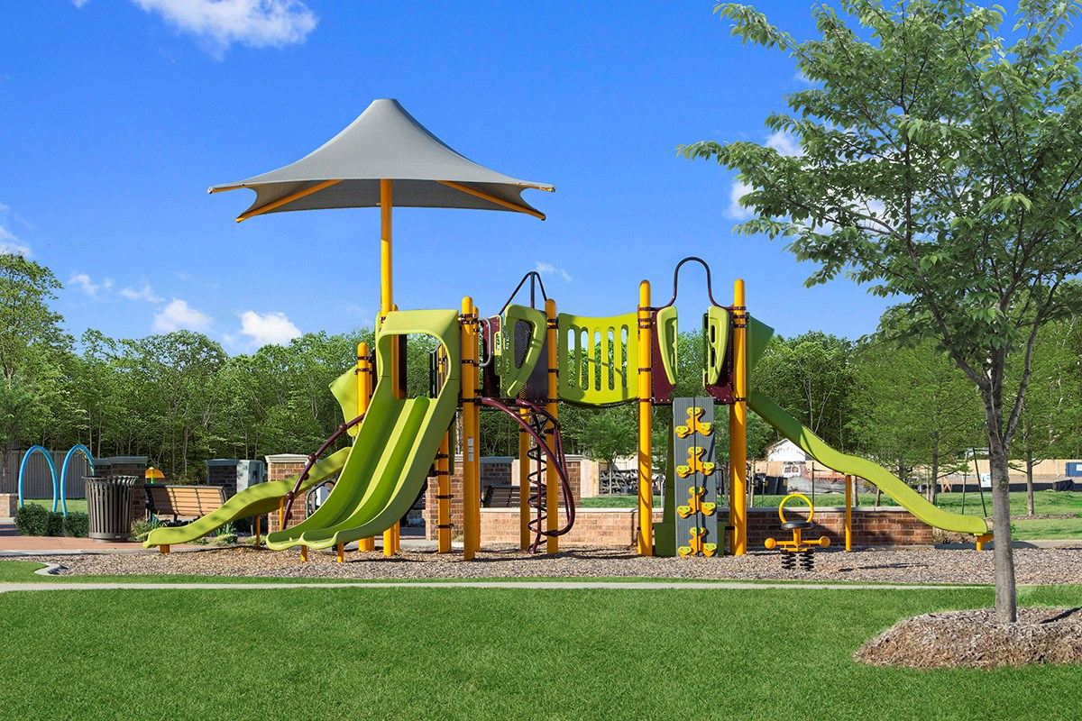 New Homes in Porter, TX - Brookwood Forest Landing Playground