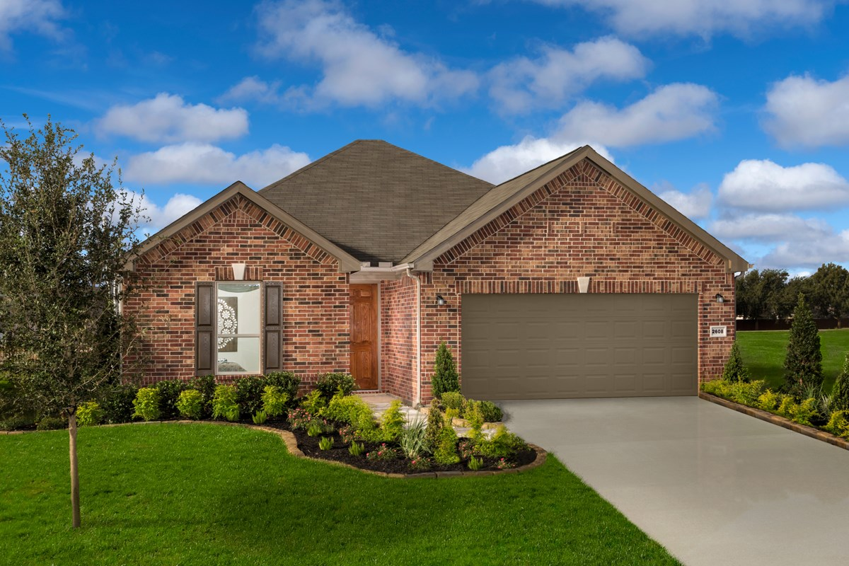 New Homes in Rosenberg, TX - Bryan Crossing Plan 1675