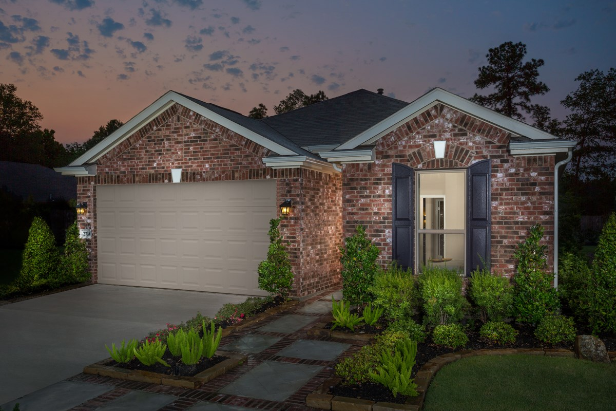 New Homes in Conroe, TX - Cayden Creek Plan 1889