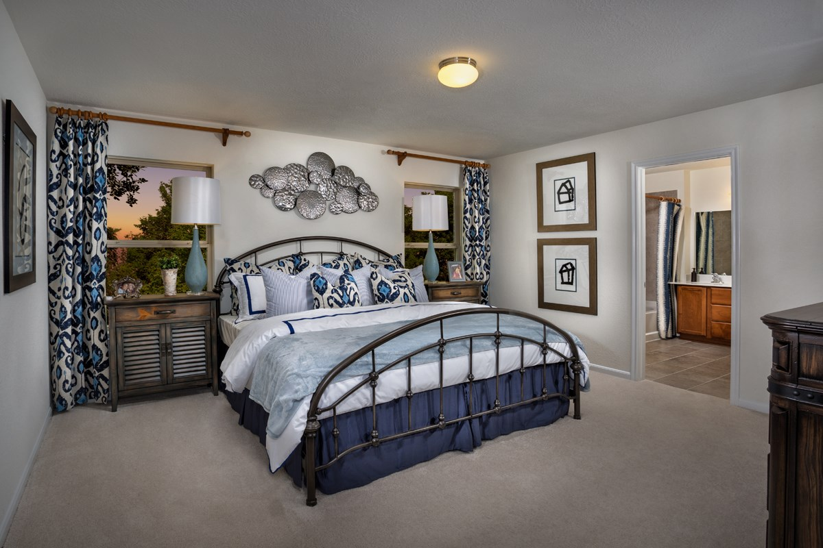 New Homes in Conroe, TX - Cayden Creek Plan 2596 Master Bedroom