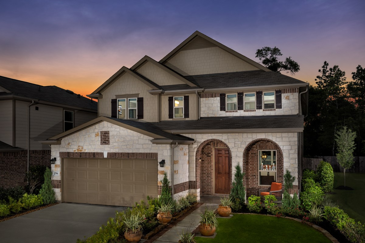 New Homes in Conroe, TX - Cayden Creek Plan 2961
