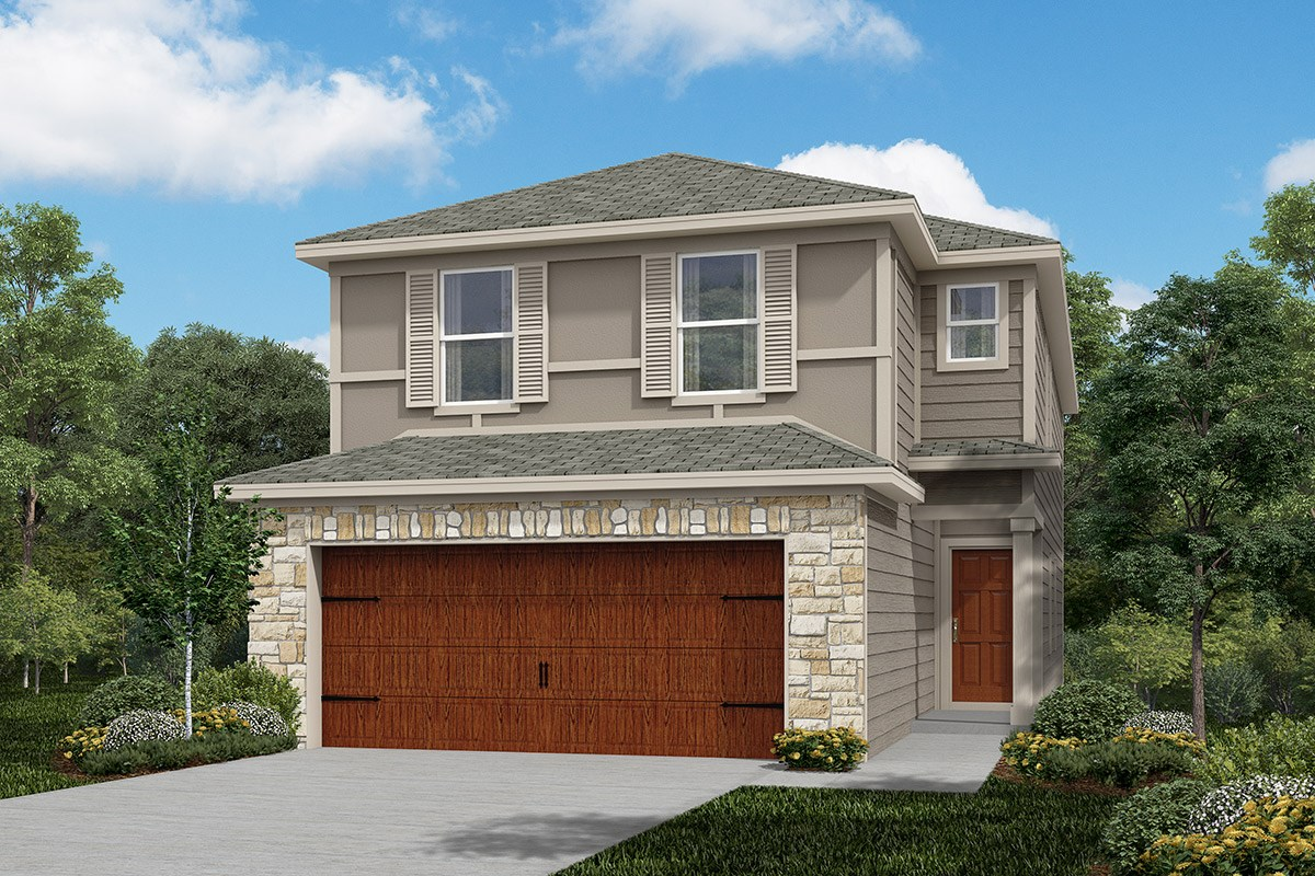New Homes in Houston, TX - Cedar Brook Plan 2080 Elevation F