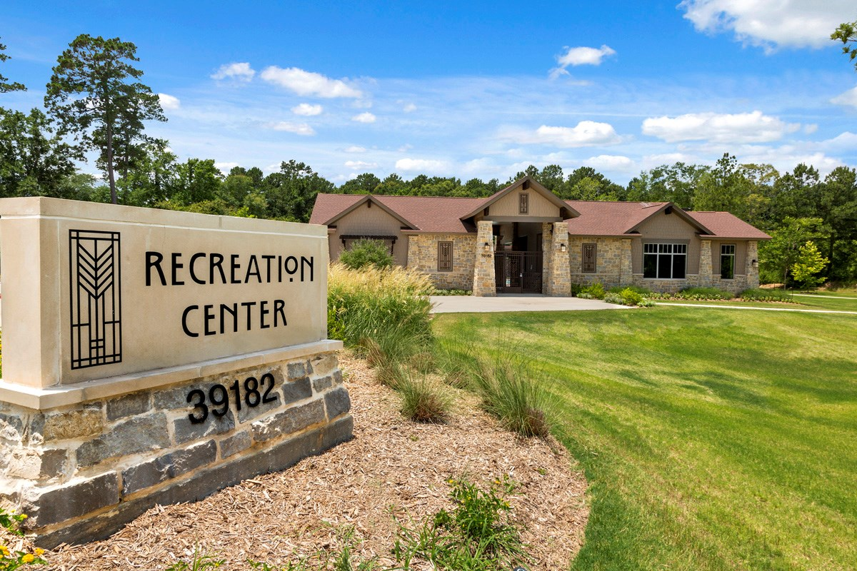 New Homes in Magnolia, TX - Cimarron Creek Estates Recreation Center