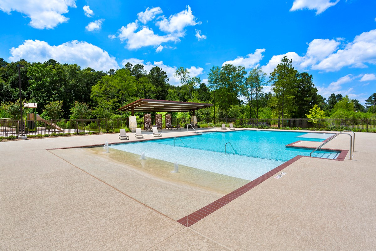 New Homes in Magnolia, TX - Cimarron Creek Estates Resort-style Pool