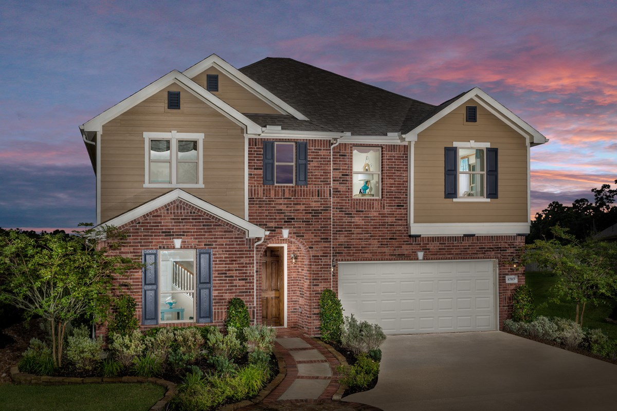 New Homes in Magnolia, TX - Cimarron Creek Preserve Plan 2478 Modeled