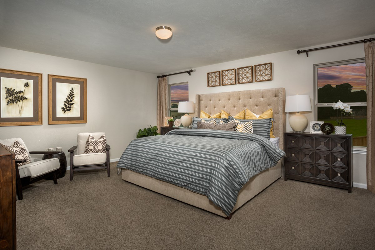 New Homes in Houston, TX - Cypress Creek Landing Plan 2372 Owner's Suite