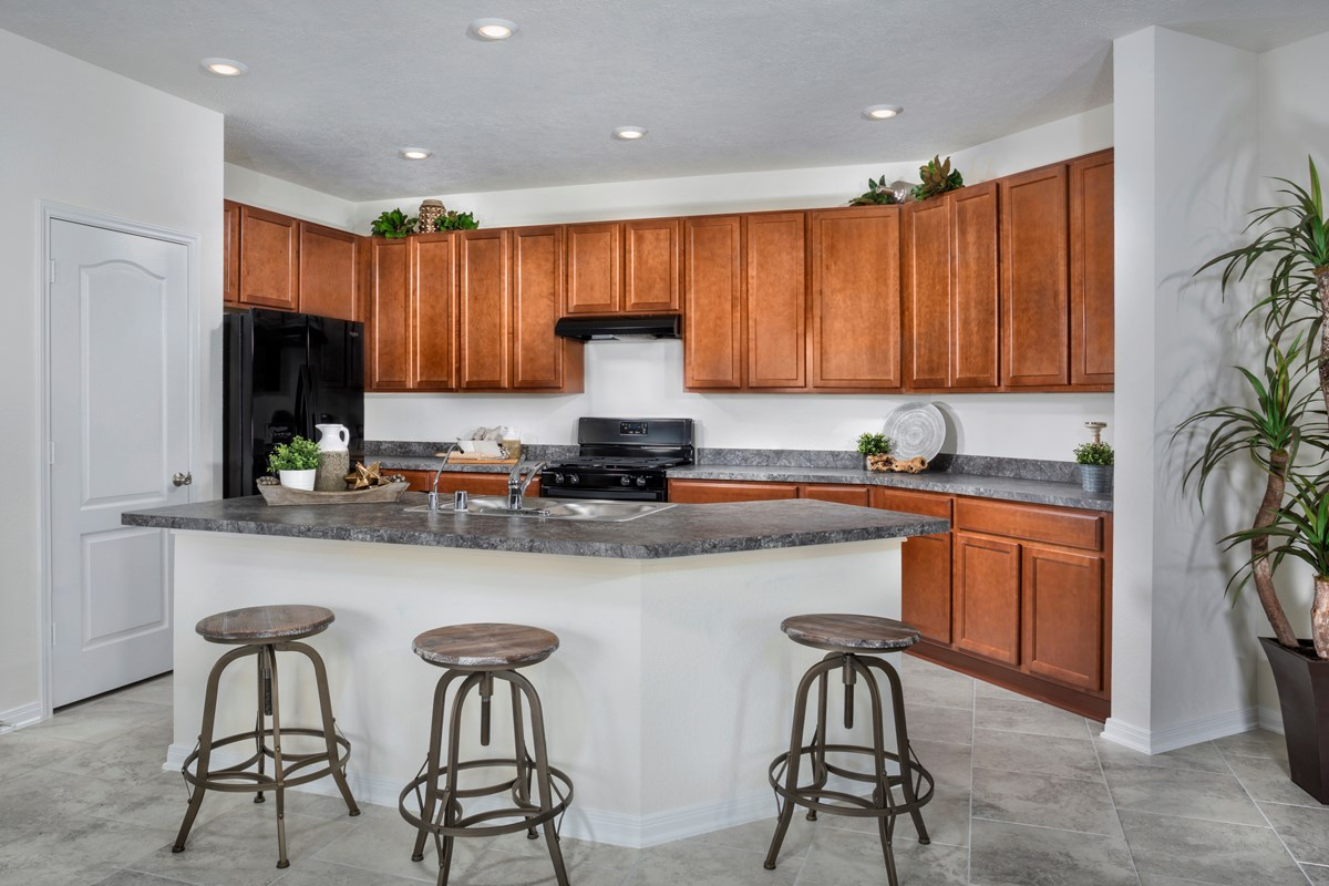 New Homes in Houston, TX - Hillsdale Creek Plan 1585 Kitchen