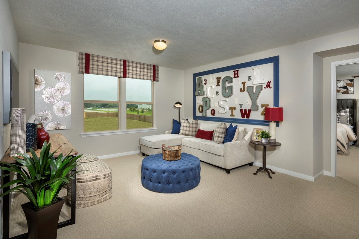 New Homes in Houston, TX - Hillsdale Creek Plan 2124 Loft