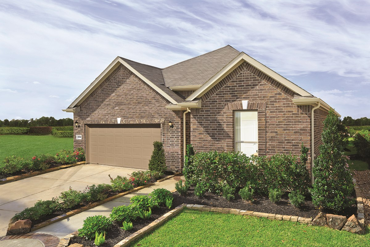 New Homes in Katy, TX - Anserra Preserve Plan 2130 as modeled at Katy Manor Preserve