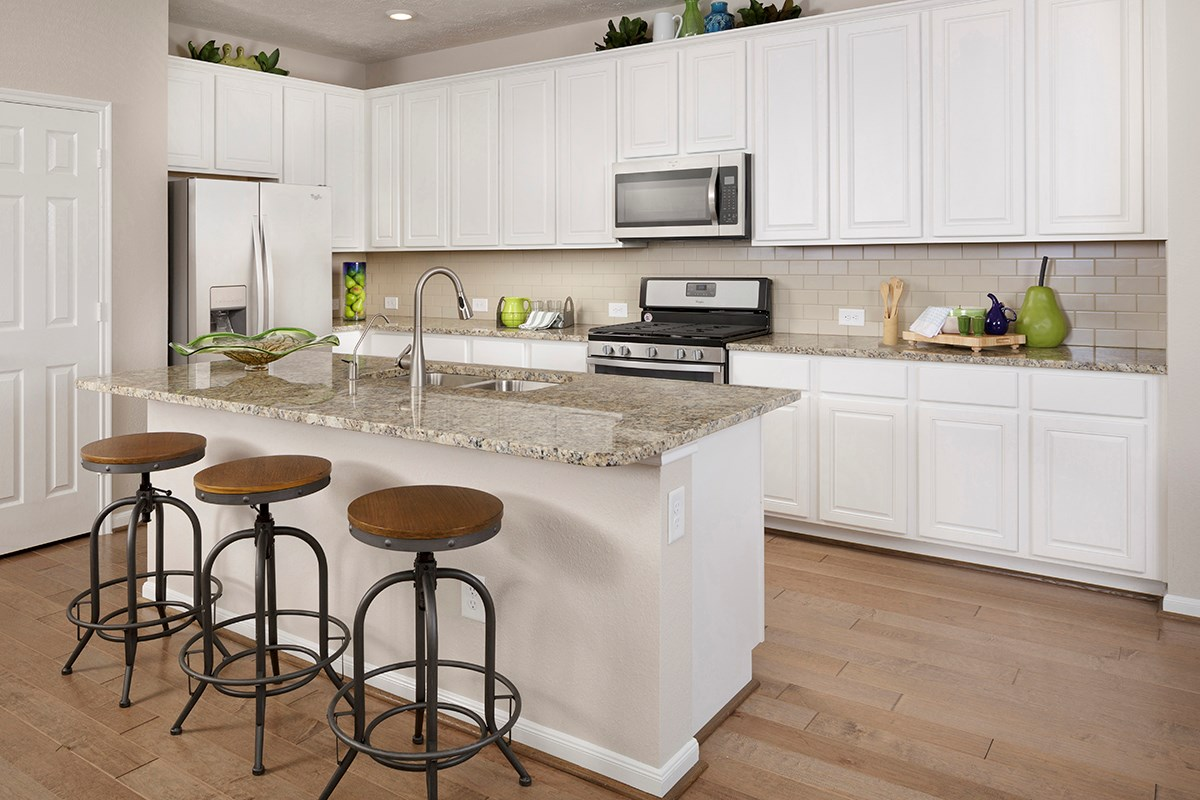 New Homes in Katy, TX - Katy Manor Preserve Plan 2478 Kitchen