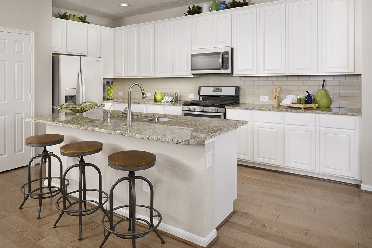 New Homes In Katy, TX   Katy Manor Preserve Plan 2478 Kitchen