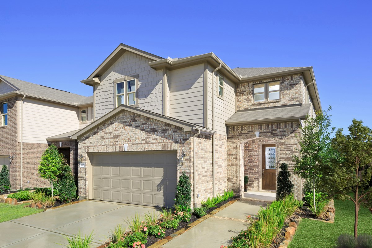 New Homes in Houston, TX - Mills Creek Crossing Plan 2646 as modeled at Katy Manor Trails