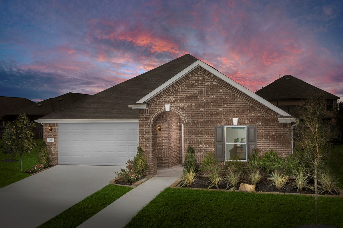New Homes in Houston, TX - Lakewood Pines Preserve Plan 1785