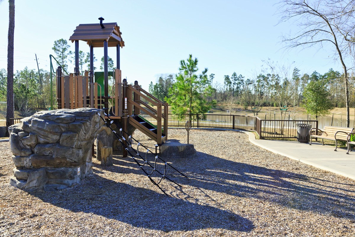 New Homes in Houston, TX - Lakewood Pines Trails  Playground - Alternate View
