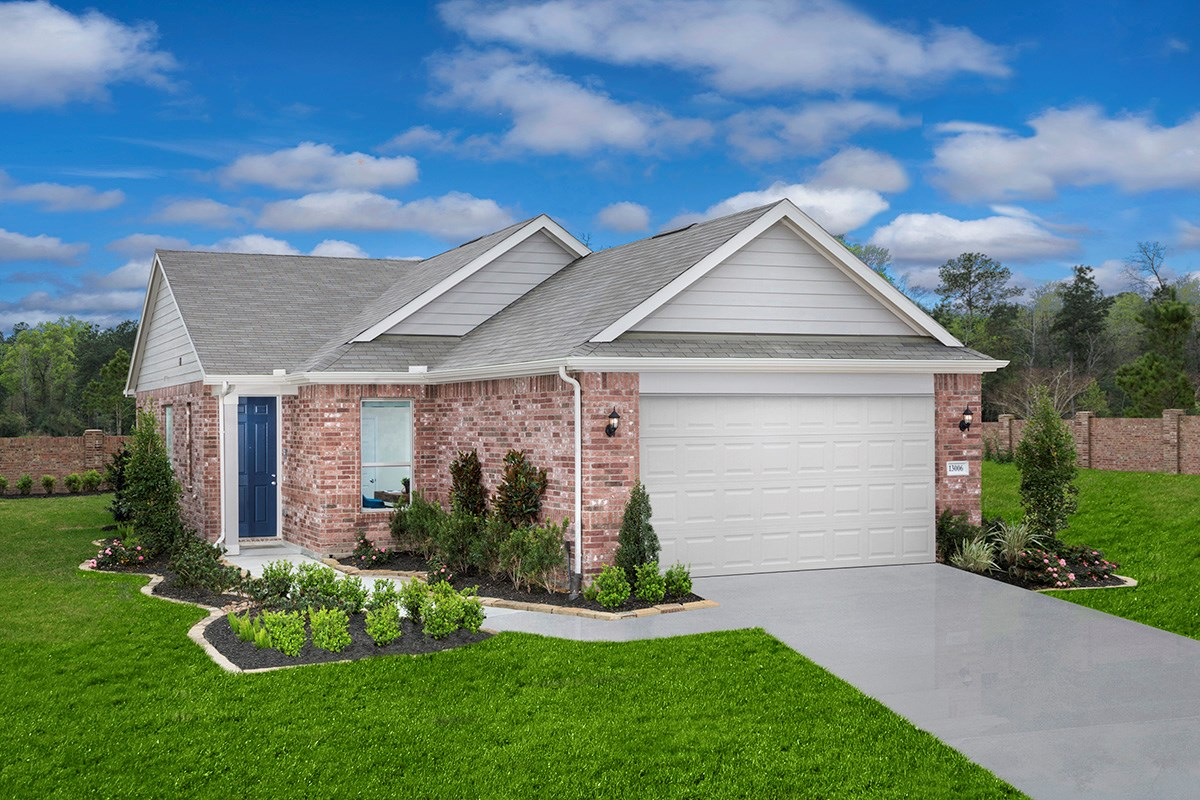 New Homes in Houston, TX - Lakewood Pines Trails  Plan 1585