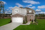 New Homes in Houston, TX - Plan 2646 Modeled