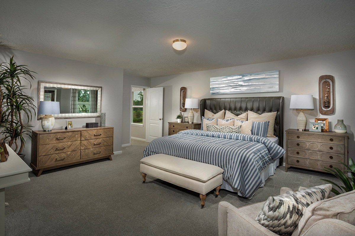 New Homes in Houston, TX - Lakewood Pines Trails  Plan 2646 Master Suite