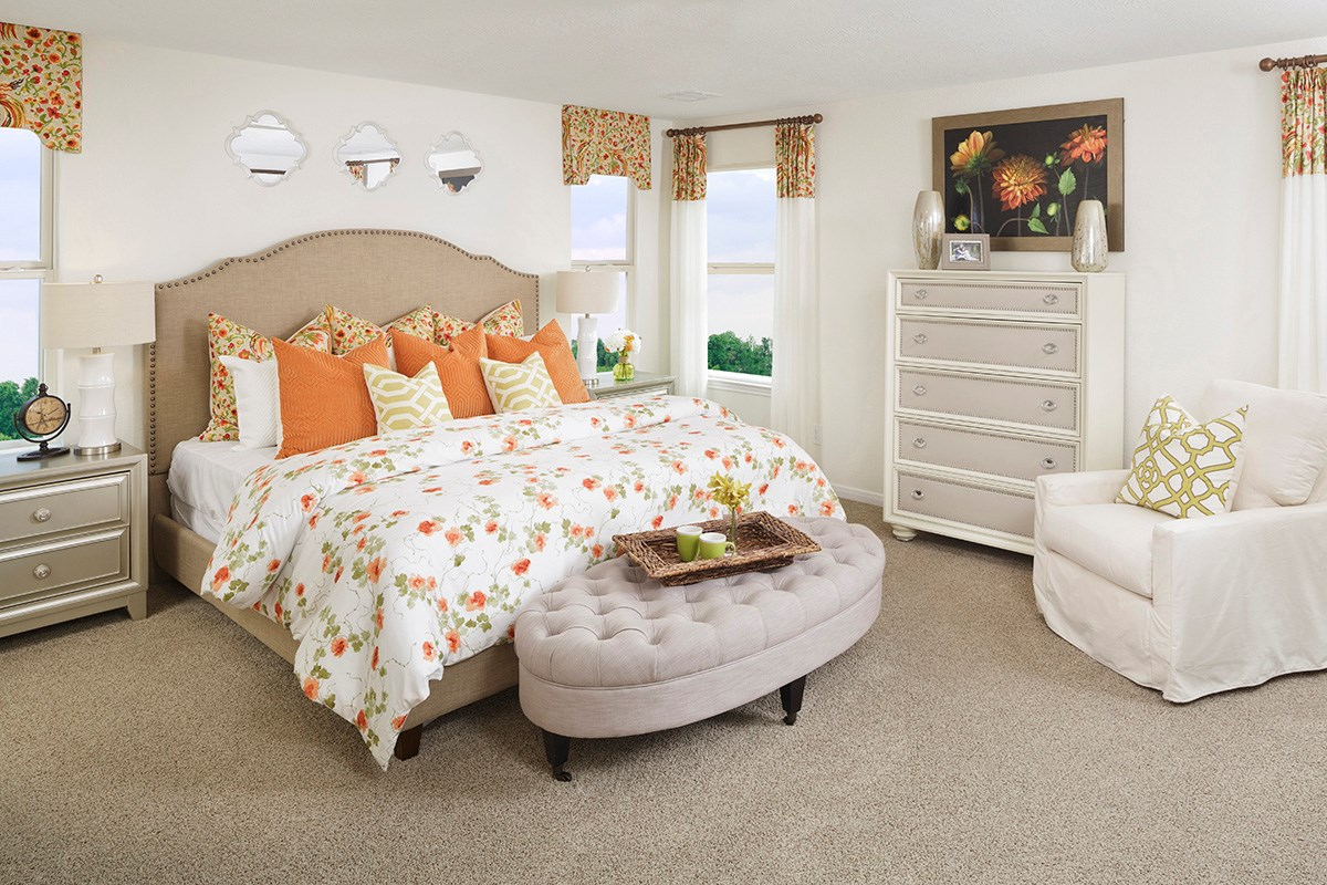 New Homes in Cypress, TX - Lancaster Square Plan 2354 Master Bedroom