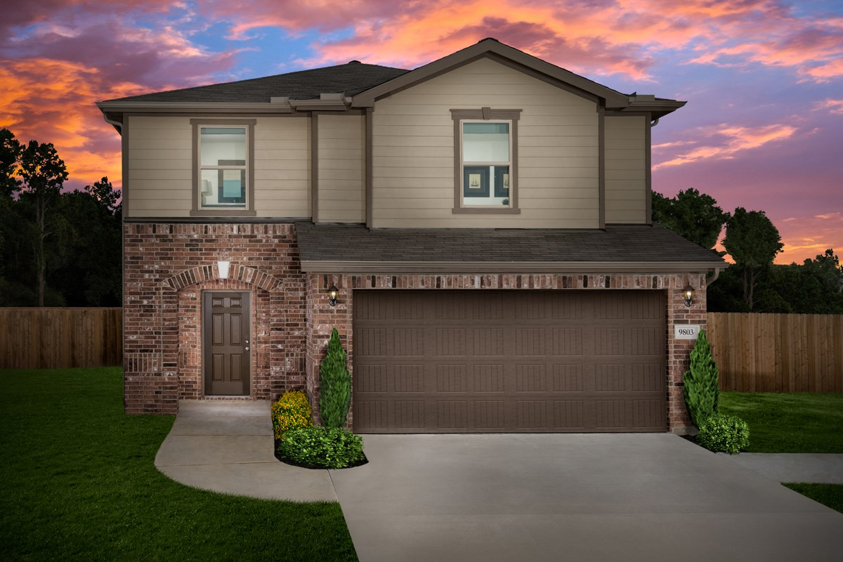 New Homes in Houston, TX - Mills Creek Crossing Plan 2124 Modeled