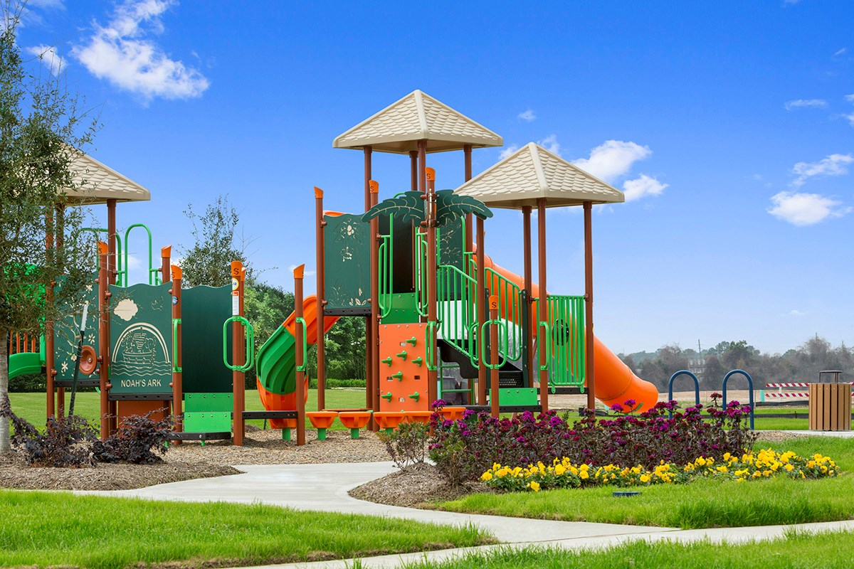 New Homes in Houston, TX - Mills Creek Crossing Playground