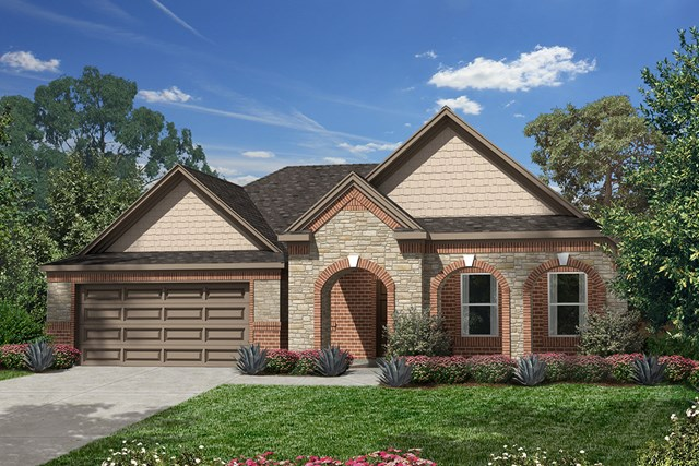 New Homes in Humble, TX - Elevation E