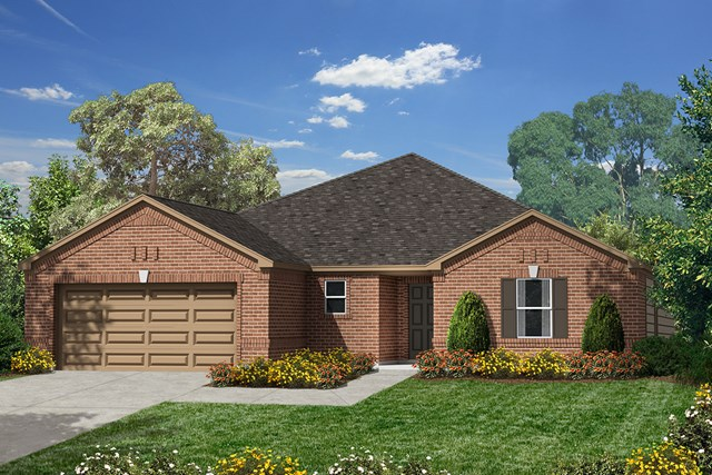 New Homes in Humble, TX - Elevation A