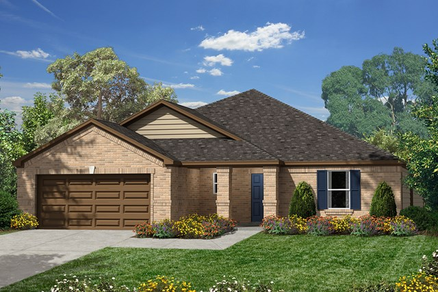 New Homes in Humble, TX - Elevation B