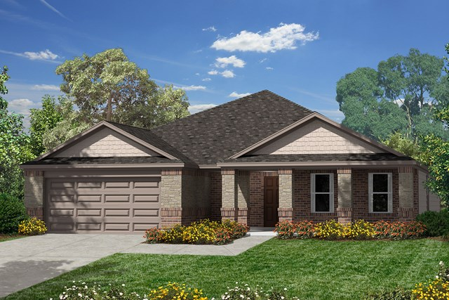 New Homes in Humble, TX - Elevation C