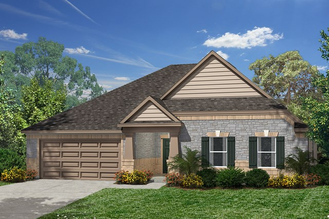 New Homes in Humble, TX - Elevation D